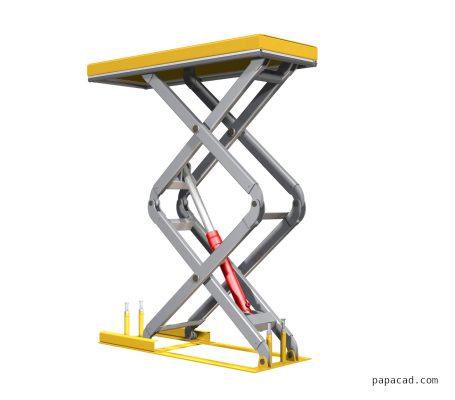 Scissor lifter design