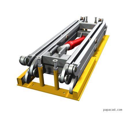 Scissor table lift project 1 ton