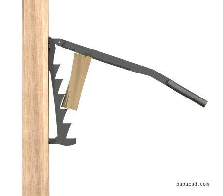Softwood Kindling Splitter 3D model