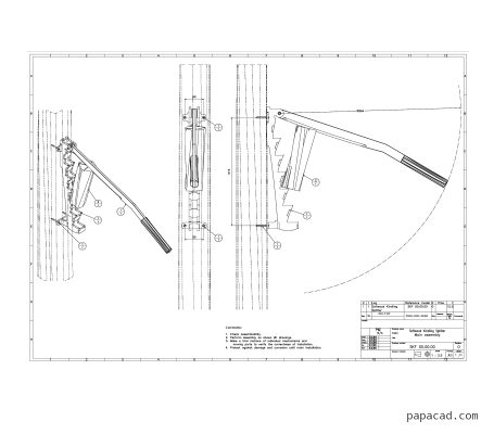 Softwood Kindling Splitter drawings pdf and dwg