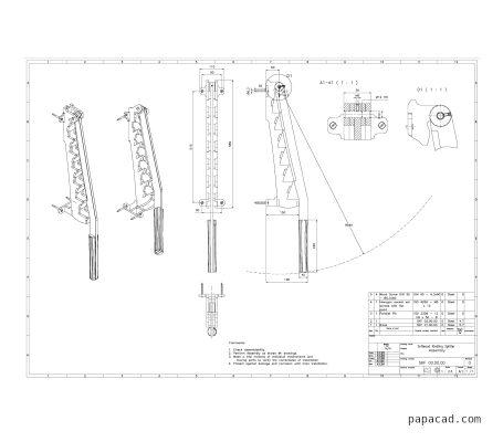 Homemade manual log splitter plans pdf and dwg