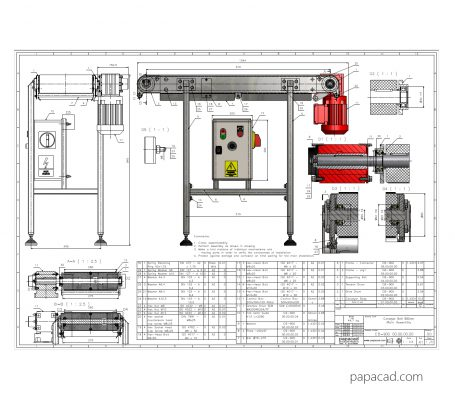 Conveyor drawing free download