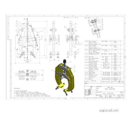 Pipe Clamp Vise plans