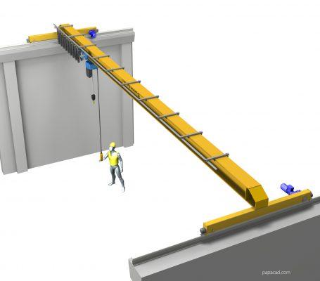 Overhead crane design