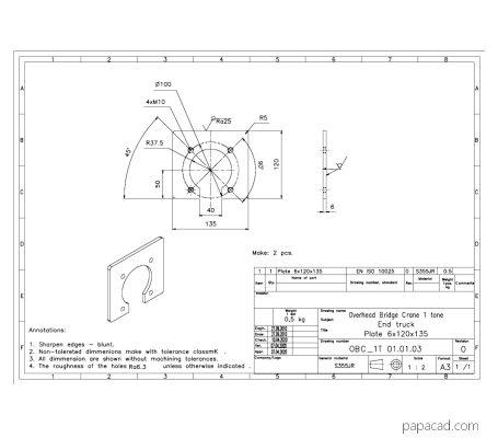 Overhead crane pdf datasheet papacad.com