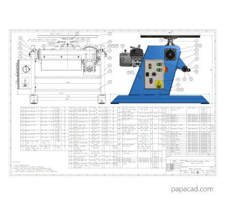 DIY welding positioner CAD design