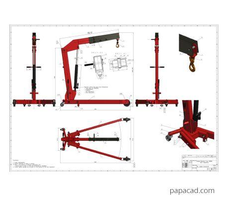 Hydraulic Crane project