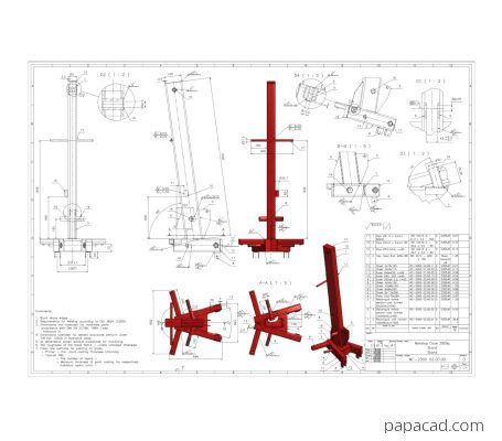 Hydraulic crane drawing PDF