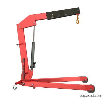 Workshop Crane Design with 2D plans