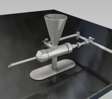 Doughnut Jelly Filler 3D model from papacad